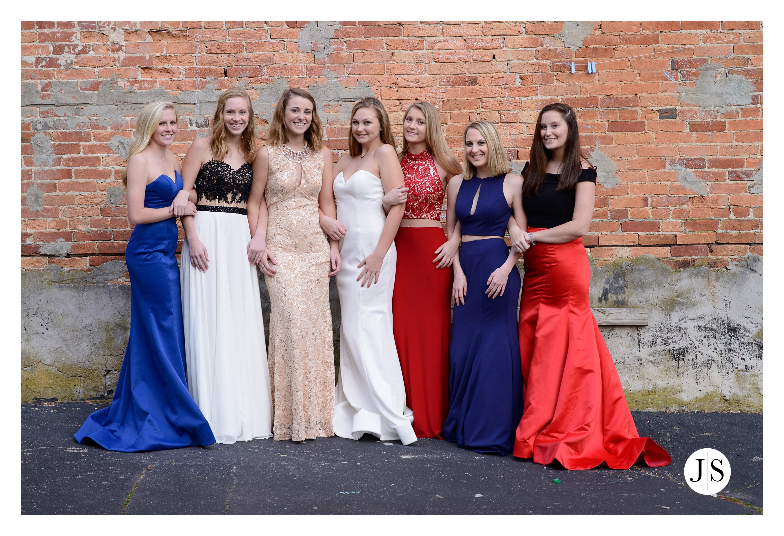 Prom Session Dryden Dress Co James Seip